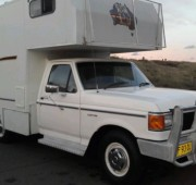 1986 F250 Motorhome NED KELLY Decals