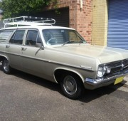 Holden Station Wagon HR