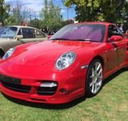 Red Porsche 911 Turbo Coupe 997 Sunroof Auto