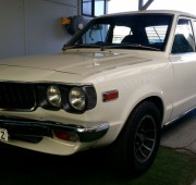 Mazda RX3 4 dr Sedan, White, rotary engine, very original inside & out fast and loud