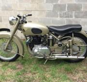 Classic BSA Golden Flash Motorcycle
