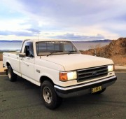White American Ford F150