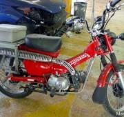 Postie motorcycle