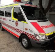 Ambulance. Mercedes Sprinter