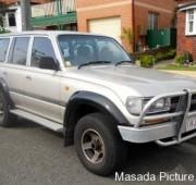 Toyota Landcruiser 80`s series
